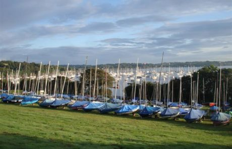 Boat storage at Windsport, Mylor, Falmouth