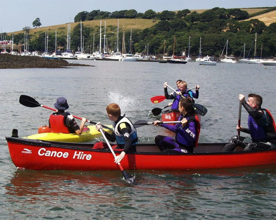 Water Fun at Windsport Falmouth, Cornwall