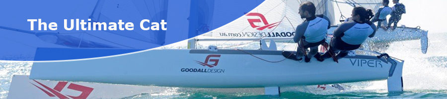 Goodall Viper F16 - The Ultimate Catamaran