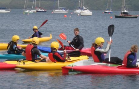Water Fun at Windsport Falmouth, Cornwall