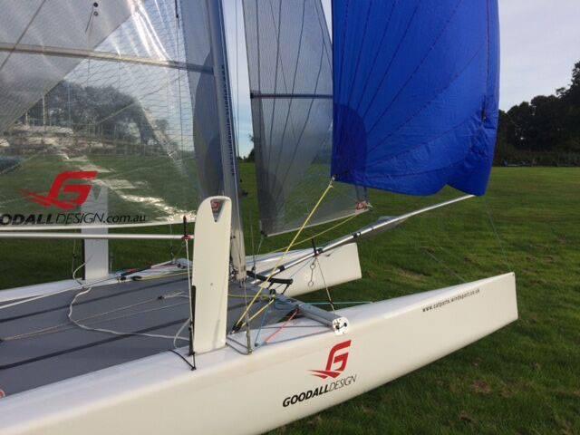 Viper catamaran coaching from Windsport