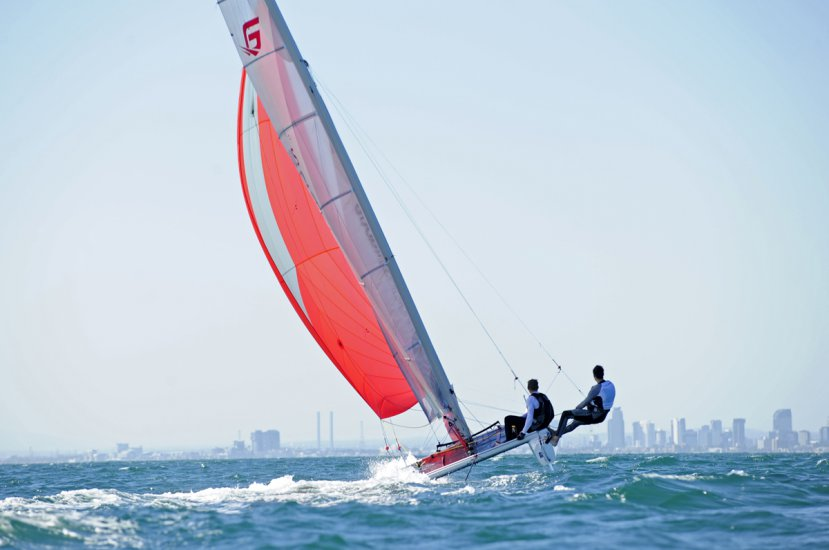 C2 Goodall racing catamaran