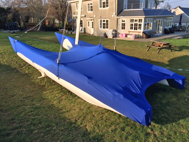 Stretch Event Boat Cover