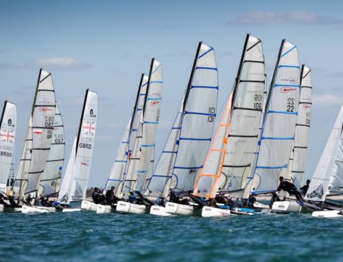 Theo podiums at the RYA Youth Nationals