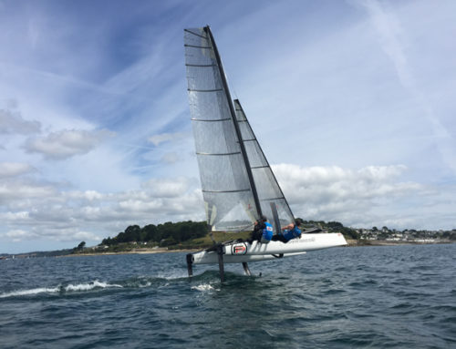 Foiling Academy taking off