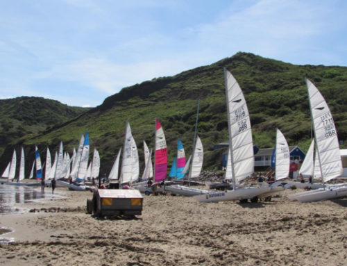 Dart 18 GP at Runswick Bay Sailing Club