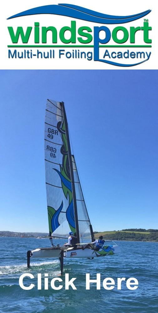Windsport Foiling academy Cornwall