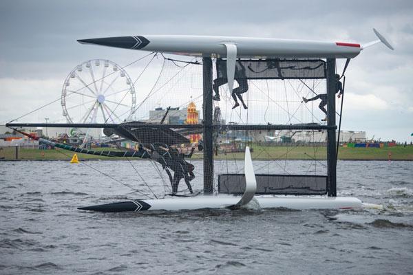 capsize familiarisation