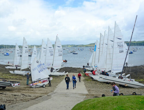 Catamaran Bonanza at Windsport in July