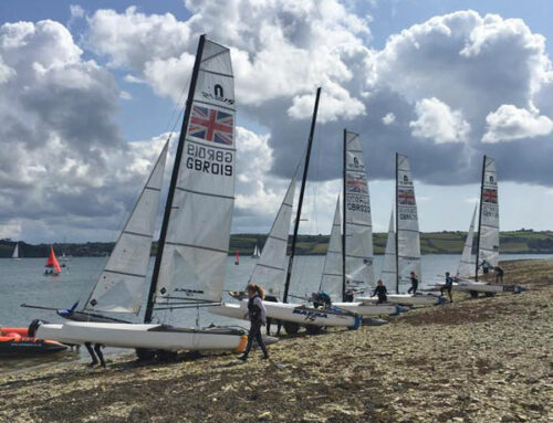 RYA Nacra 15 Youth Squad Training