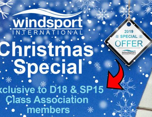 Windsport Dart 18 / Sprint 15 Class Association Christmas Special