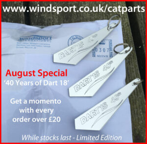 Dart 18 Key Ring Offer