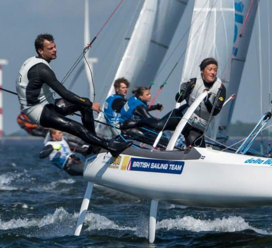 Learn to sail a foiling catamaran at Windsport