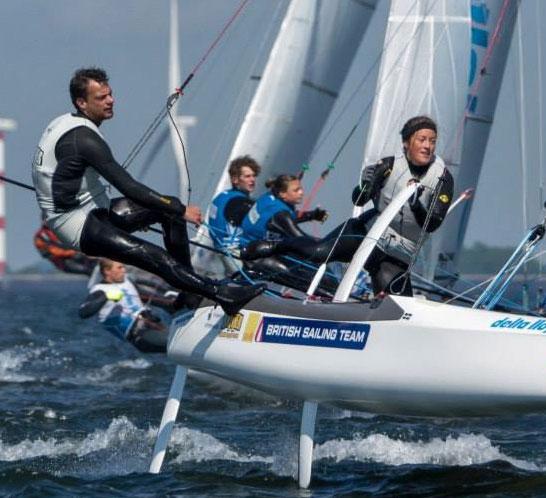 Learn to sail a foiling catamaran at Windsport