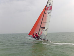 Team Hong Kong - Nacra 17