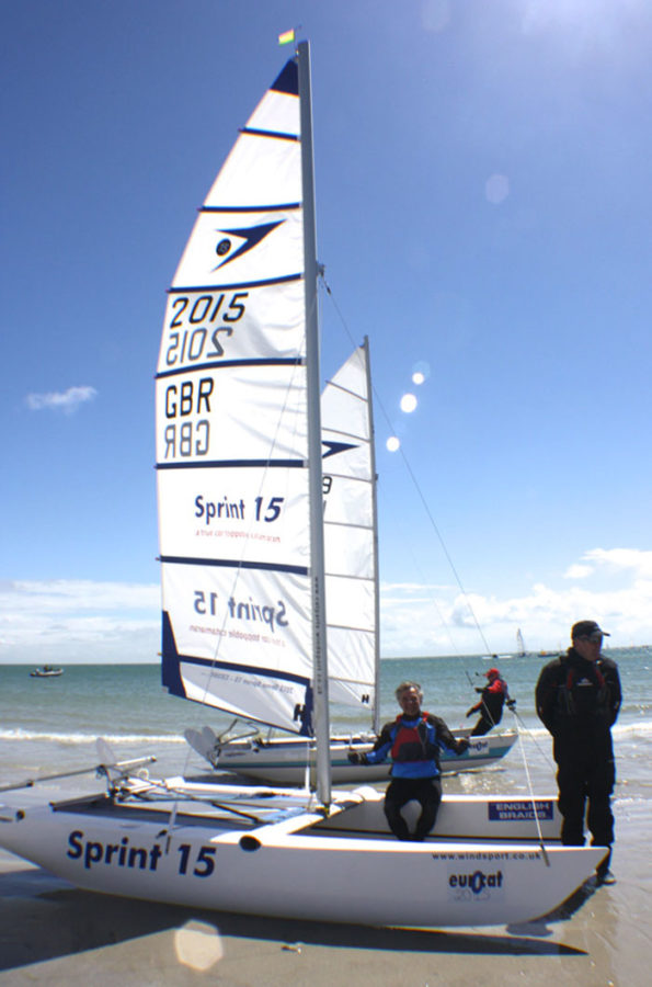 Sprint 15 catamarans - learn to sail at Windsport